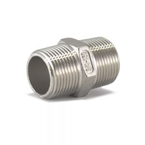 BSP Hex Nipple Stainless Steel - SS BSP Fittings South Africa