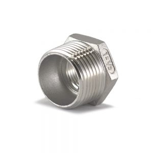 BSP Reducing Bush Stainless Steel - SS BSP Fittings South Africa