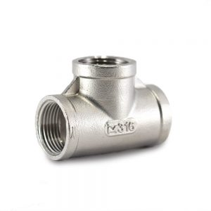 BSP Tee Stainless Steel - SS BSP Fittings South Africa